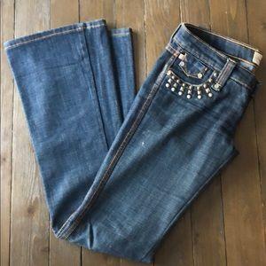 Frankie B, Size 6 Jeans with Stud Pockets